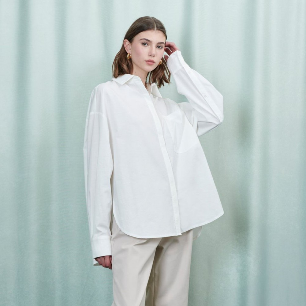 Блуза Ghospell 'Ripple' - Фото 2