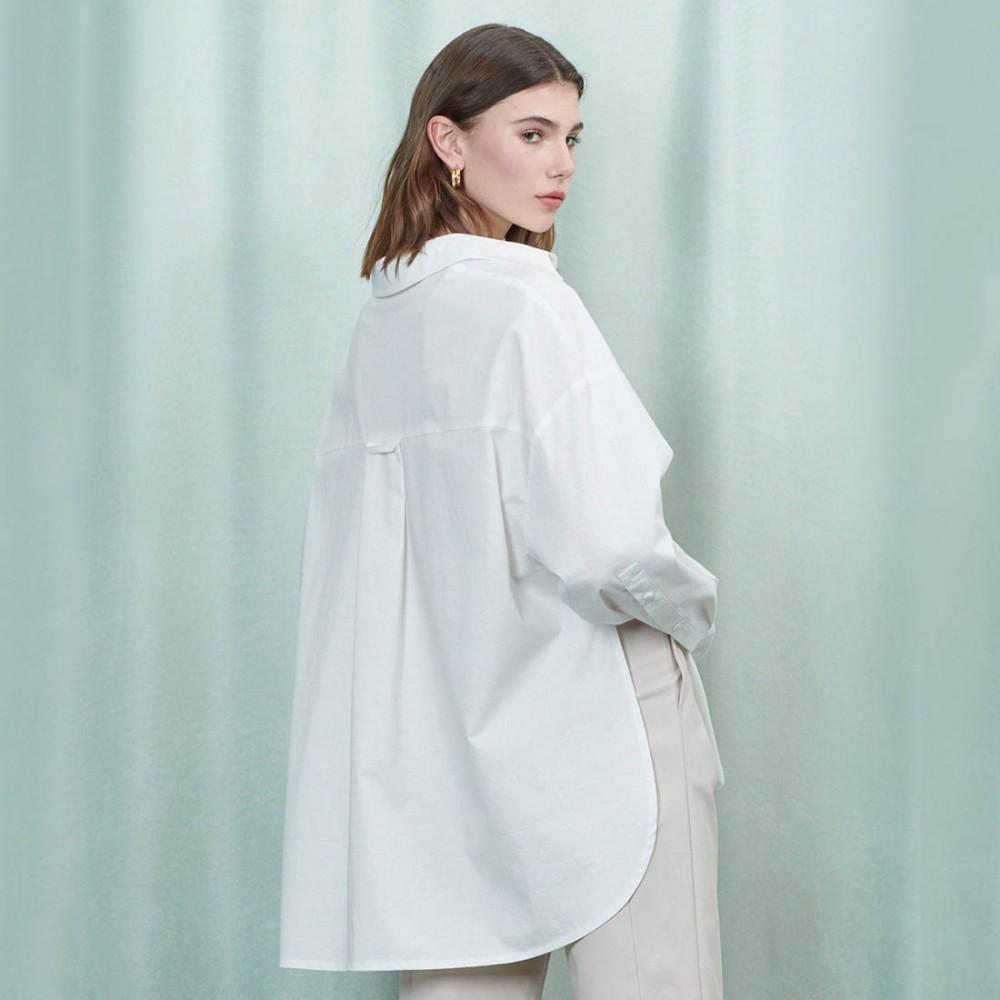 Блуза Ghospell 'Ripple' - Фото 3