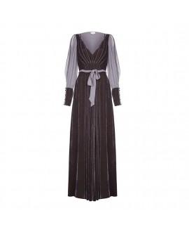 Платье Ghost 'Jazmine' в цвете грома