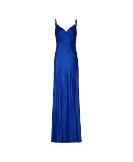 Платье Ghost 'Sofia' синее макси