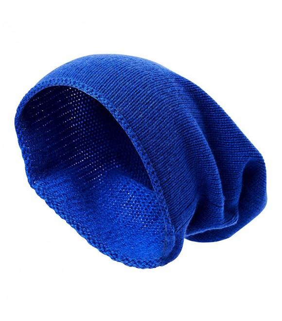 Бини Hallhuber кашемировое синее