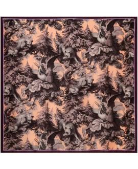 Платок Klements «Беловежская пуща», 140x140, кашемир
