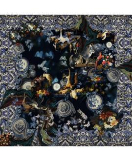 Платок Klements «Кларисса», 140x140, шелк