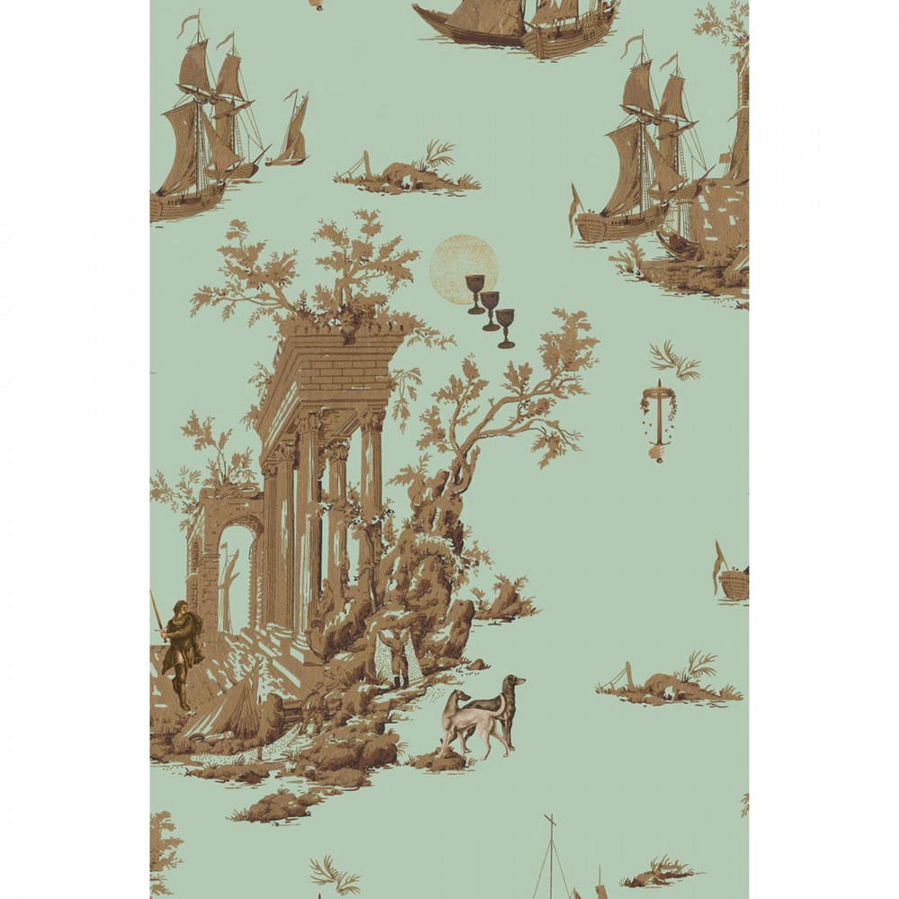 Платок Klements «Проклятая цивилизация», 140x140, шелковый шифон (НА ЗАКАЗ)