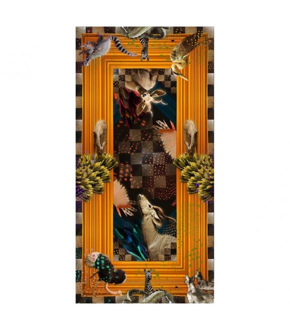 Платок Klements «Гардеробная», 140x70, шёлк