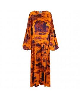 Платье Klements 'Dusk' с принтом «Обречённый рейс»