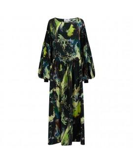 Платье Klements 'Dusk' с принтом 'Psychriver'