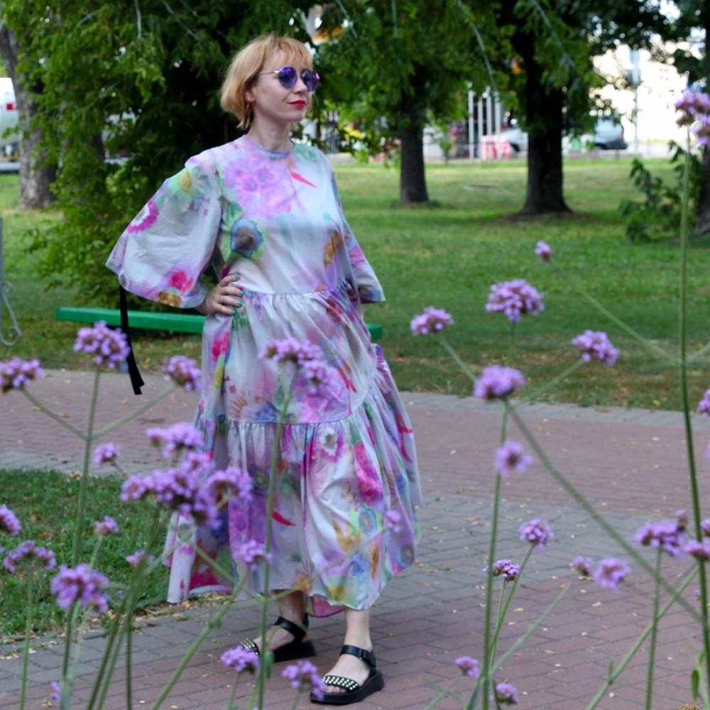 Платье Klements 'Eidothea' в расцветке «Вудсток» - Фото 2