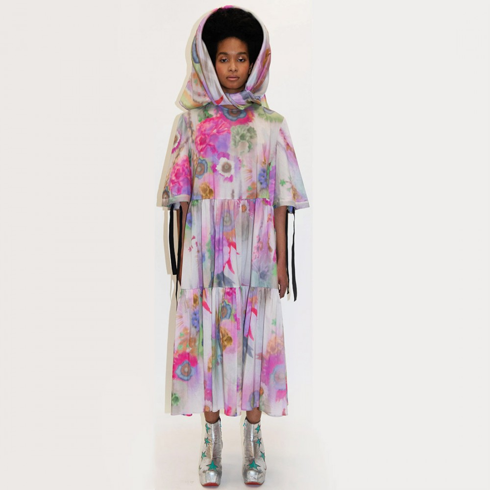Платье Klements 'Eidothea' в расцветке «Вудсток» - Фото 3