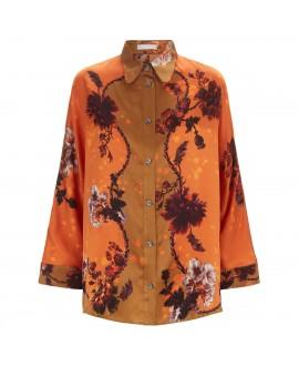 Блуза Klements «Эскаписты» в расцветке «Готические цветы»