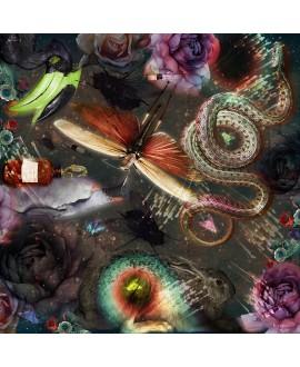 Платок Klements «Формальдегид», 140x140, шелк
