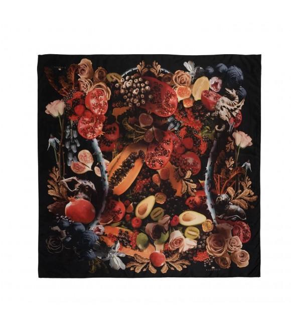 Платок Klements «Торжество», 90 х 90 см, шелк