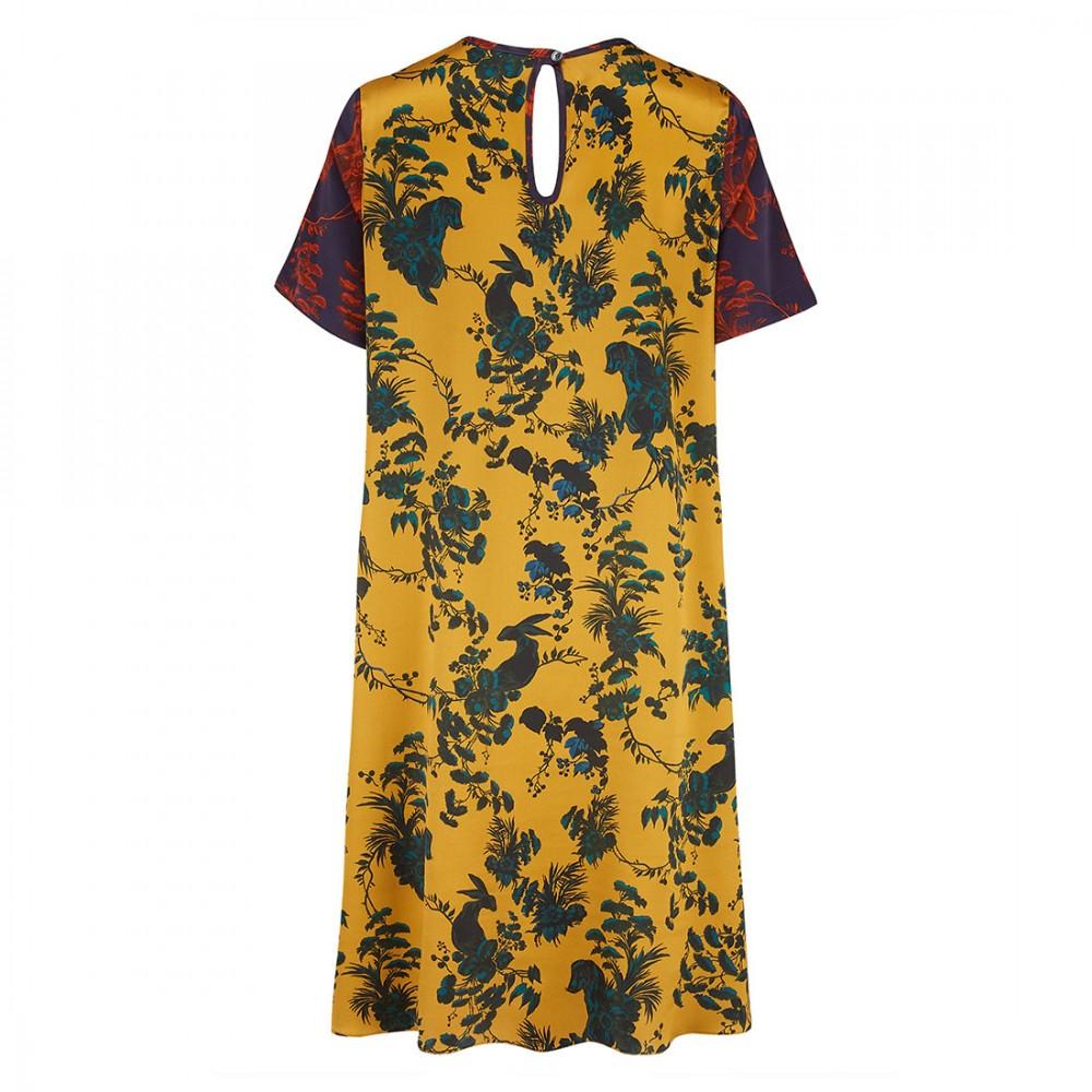 Платье Klements 'Frieda' с узором 'Garden Puppets'