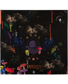 Платок Klements «Космос», 140x140, шёлк