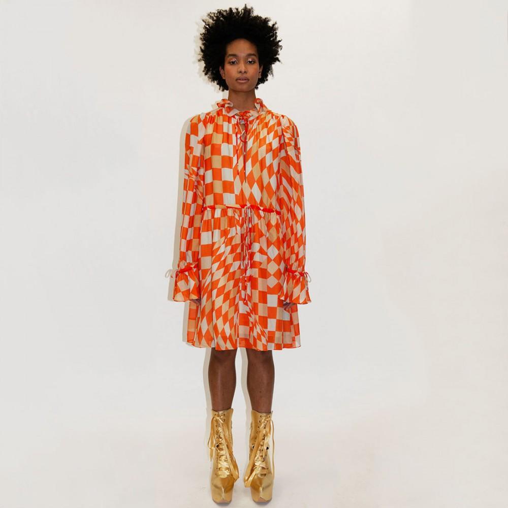 Платье Klements 'Maudie' с узором «Лабиринт» - Фото 4