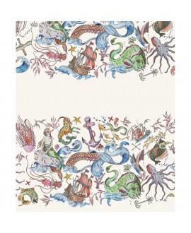 Шарф Klements «Русалка», 125 x 25, шелк