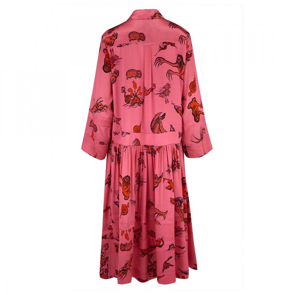 Платье Klements 'Opheus' с узором 'Чудище морское'