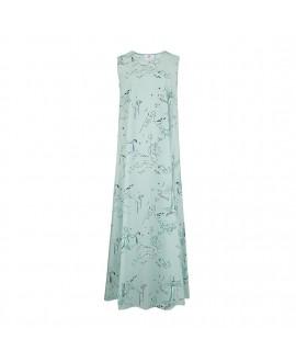Платье Klements «Патти» с принтом «Старый Нептун»