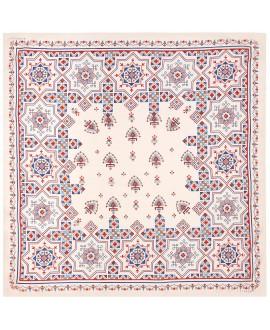 Платок Klements «Паззл», 140 x 140, кашемир