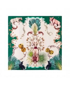 Платок Klements «Сфинкс», 90x90, шелк