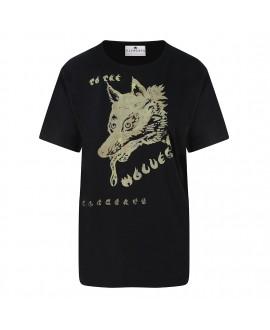 Футболка Klements 'Wolf' черная