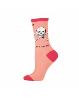 Женские носки Socksmith «La Calavera» коралловые