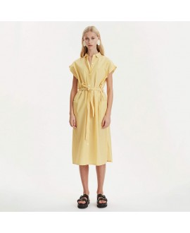 Платье-рубашка Libertine-Libertine 'Unit' в желтую полоску