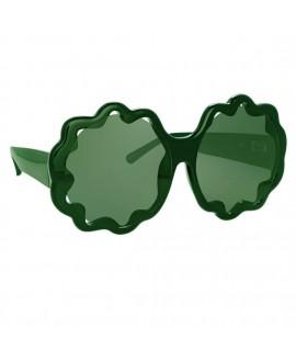 Очки Linda Farrow х Markus Lupfer ML14 C3 зеленые