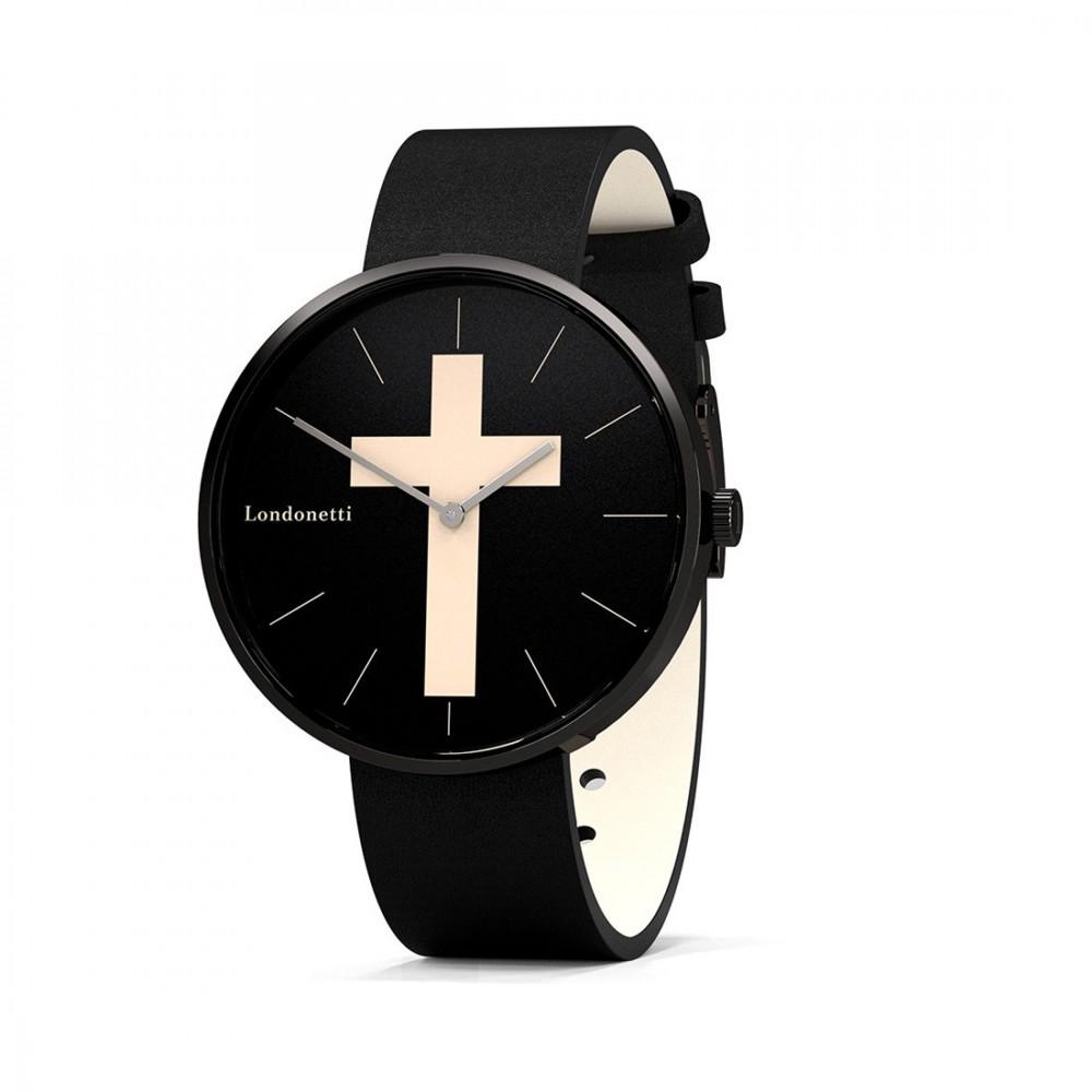 Наручные часы Londonetti Crucifix крупные - Фото 2