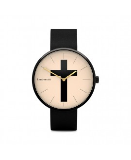 Наручные часы Londonetti Crucifix крупные черные