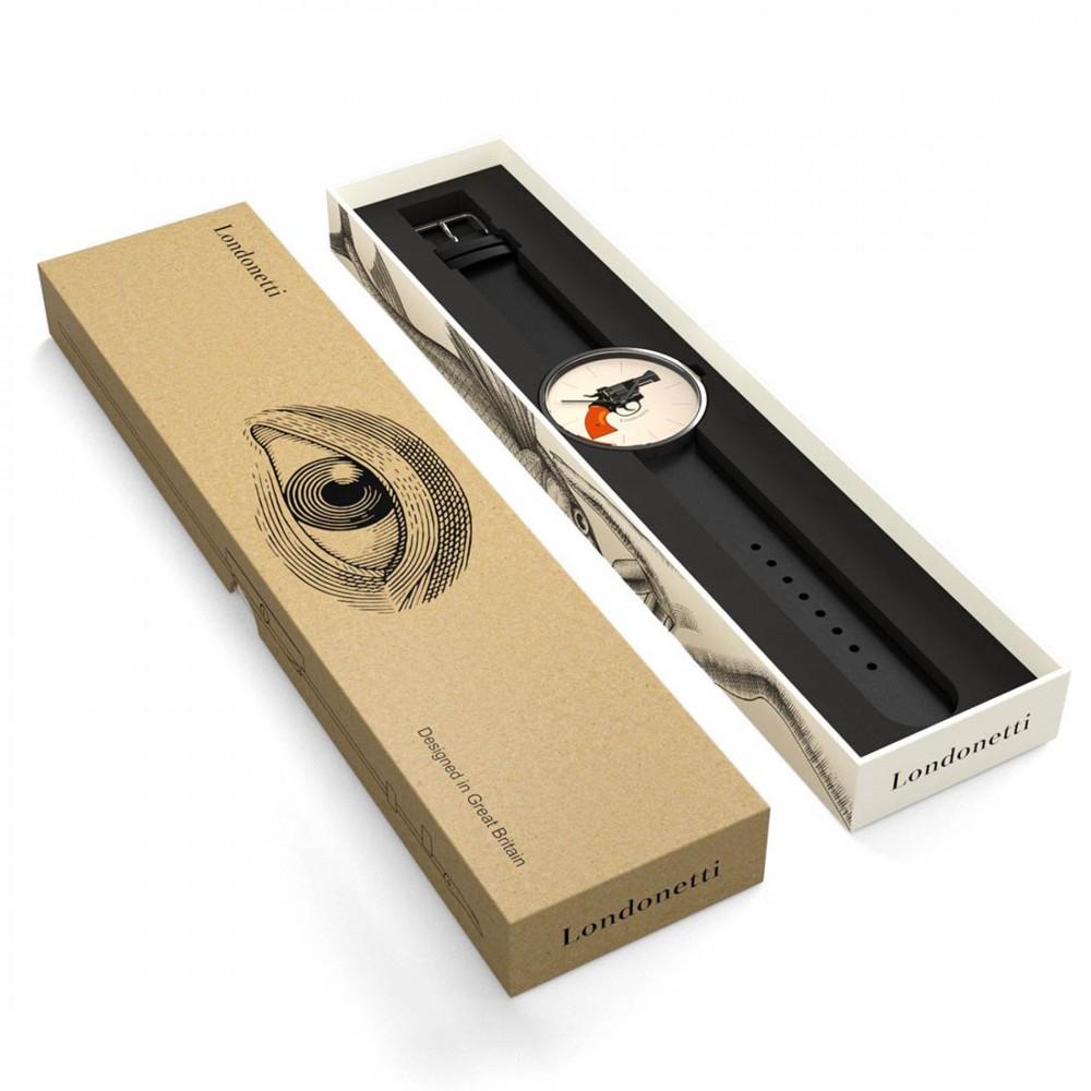 Наручные часы Londonetti Gun крупные - Фото 2