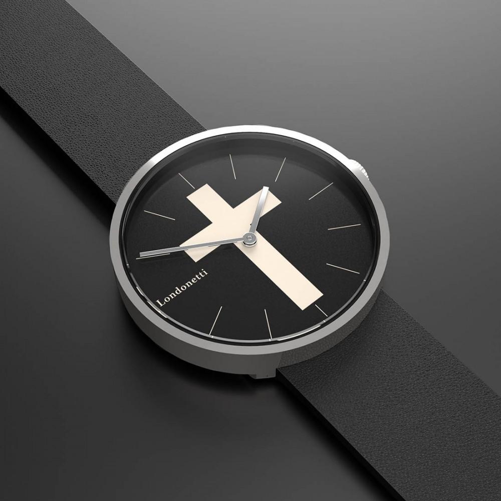 Наручные часы Londonetti Crucifix с белым крестом мини - Фото 2