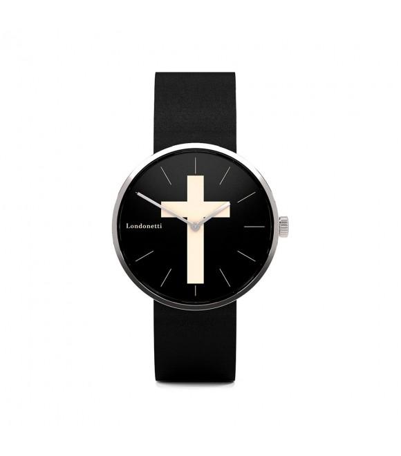 Наручные часы Londonetti Crucifix с белым крестом мини