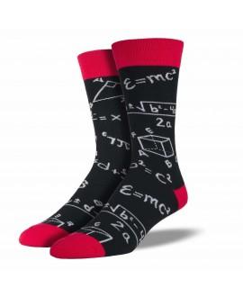 Мужские носки Socksmith «Теоремы» черные