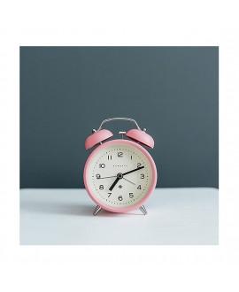 Будильник Newgate Echo розовый