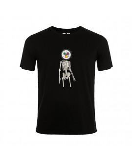 Футболка Newgate Space Hotel Skeleton Watch Head T-Shirt