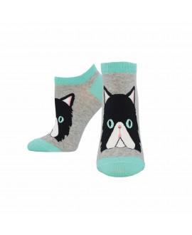 Женские носочки Socksmith «Персидский кот» серые