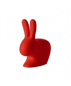 Сидение Qeeboo Rabbit Baby красное