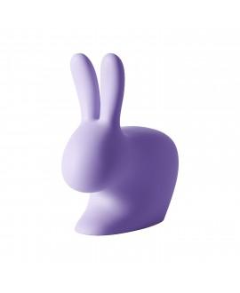 Сидение Qeeboo Rabbit Baby сиреневое