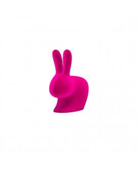 Держатель для книг Qeeboo 'Rabbit XS' фуксия