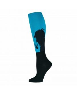 Гольфы Socksmith «Sherlock» синие
