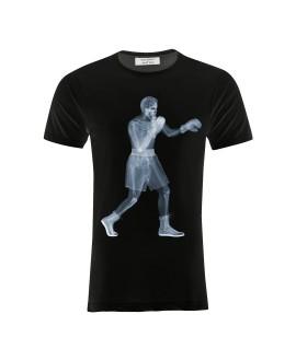 Мужская футболка Saint Noir «Бокс / Nick Veasey» черная