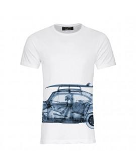 Мужская футболка Saint Noir «Beetle / Nick Veasey» белая