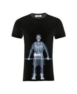 Мужская футболка Saint Noir «Мускулы / Nick Veasey» черная