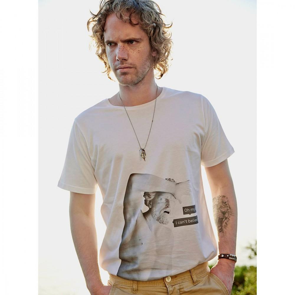 Мужская футболка Saint Noir 'My God' - Фото 2
