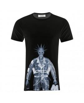 Мужская футболка Saint Noir «Панк / Nick Veasey» черная