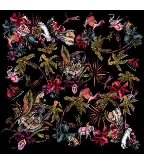 Платок Klements «Диковинки», 140x140