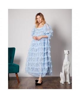 Платье Dream Sister Jane 'Sweatheart' голубое