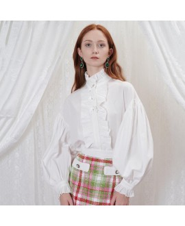 Блуза Sister Jane 'Thimble' белая