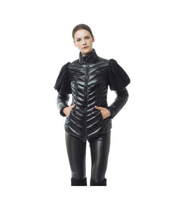 Пуховая куртка Snowman New York 'Drama' черная